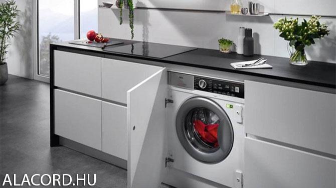 Beépített elöltöltős mosógép