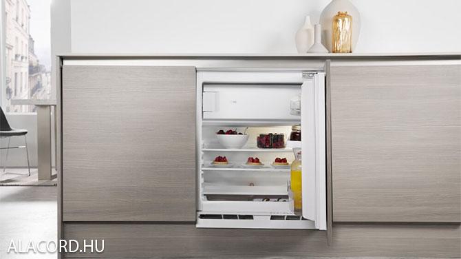 Pult alá épített hűtő