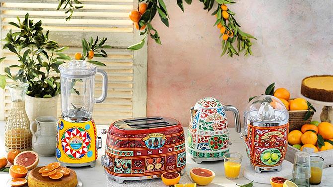 Smeg & Dolce&Gabbana termékek elérhetőek az ALACORD-nál